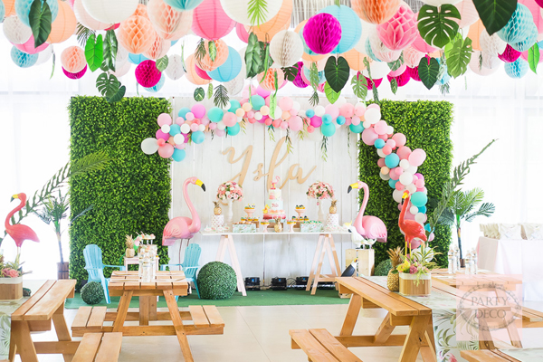 Pretty tropical birthday philippines mommy family blog for Decoration jardin soiree